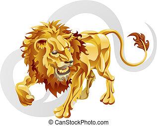 獅子, leo, 星徵候