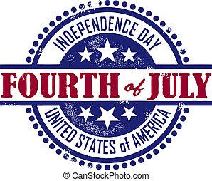 獨立日, 第四, 七月