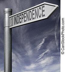 獨立, 簽署, 裁減路線
