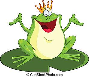 王子, 青蛙
