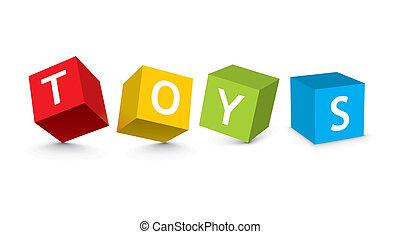 玩具塊, 插圖