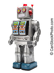 玩具机器人, 錫
