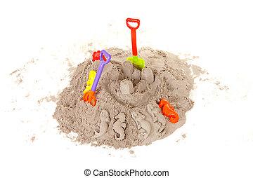 玩具, 海灘假期, 塑料