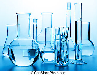 玻璃器皿, 實驗室, 化學制品