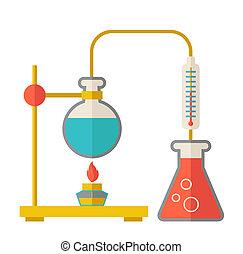 玻璃器皿, 實驗室