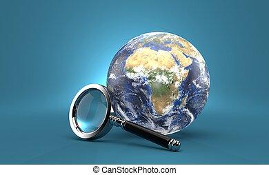 玻璃, 世界, 擴大, 全球
