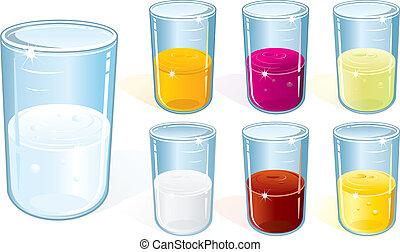 玻璃, 飲料