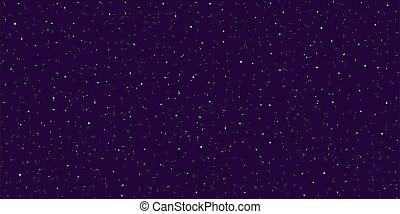 現實, 紫色, 不滿星星的, 詳細, 夜晚天空