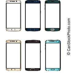 現實, set., smartphones