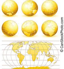 球体, 黃金