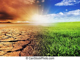 環境, 改變