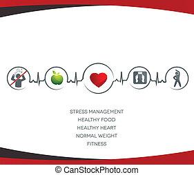 生活方式, 符號, 健康