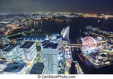 界標, 頂部, 橫濱, 觀點