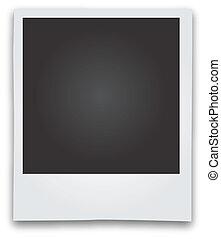 畫框架, 矢量, 即顯膠片