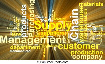 發光, 鏈子, wordcloud, 管理, 供應