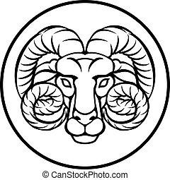 白羊星座, 黃道帶, 簽署, 星象, 占星術