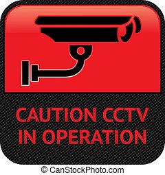 監視, cctv, 符號, pictogram, 照像機, 影像, 安全