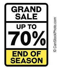 盤子, 注意, 百分之, 銷售, 70