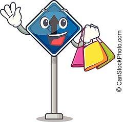 直接, 購物, 形狀, 在前, 字