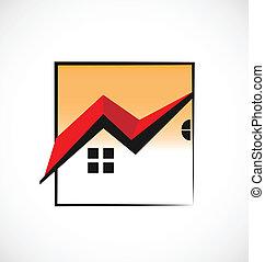 真正, 房子, 擬訂, 財產, 標識語