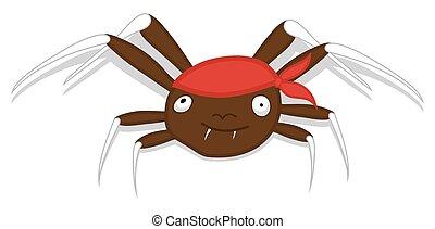 矢量, 万圣節, 蜘蛛