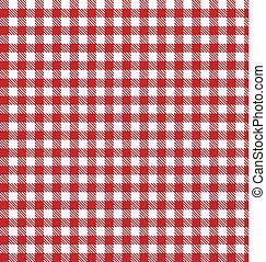 矢量, 布, 交替變換, 野餐, 紅色