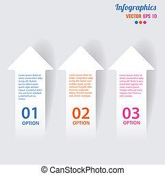 矢量, 插圖, 元素, infographics
