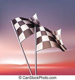 矢量, 旗, 交替變換