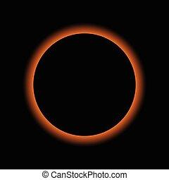 矢量, 日蝕, 太陽