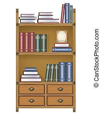 矢量, 書櫥