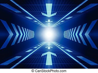 矢量, 概念, 摘要, 插圖, 背景, 未來, 技術