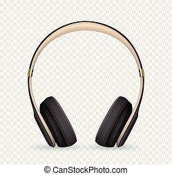 矢量, 現實, 耳機