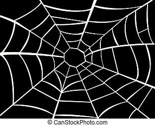矢量, 蜘蛛網, 插圖