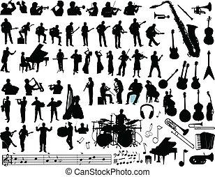 矢量, 音樂