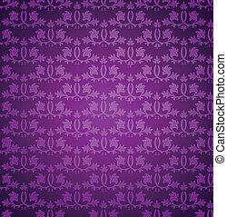 矢量, pattern., seamless, 牆紙