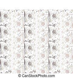 矢量, pattern., seamless