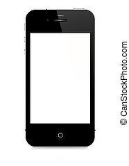 矢量, smartphone, -, 4s