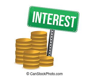 硬幣, 綠色, 興趣, 簽署