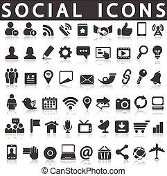 社會, 圖象