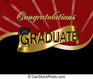 祝賀, 圖表, 畢業生
