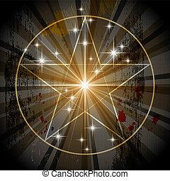 神秘主義者, 古老, 五角星形