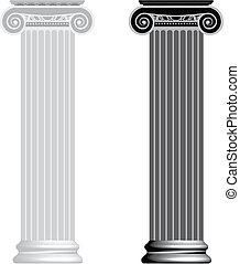 离子的圓柱