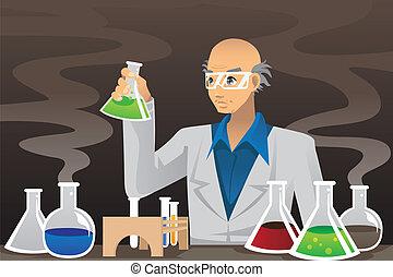 科學家, 實驗室