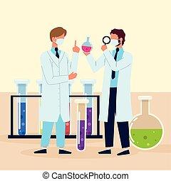 科學家, 過程, 研究, 科學