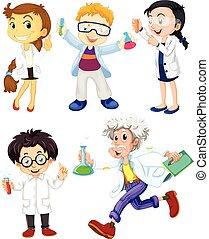 科學家, 醫生