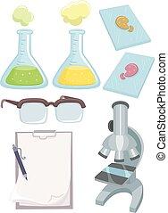 科學, 元素, 實驗室