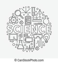 科學, 輪, 插圖
