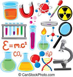 科學, 集合, 材料