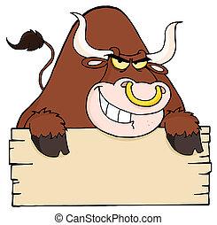 空白徵候, 堅韌, 公牛