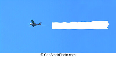 空白, 飛機, 區域